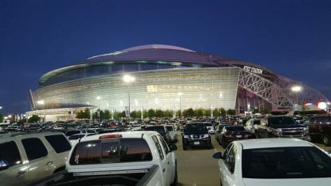 AT&T Stadium Evening Picture