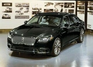 Black Lincoln Continental Livery Edition