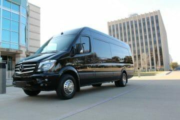 Mercedes Sprinter black exterior