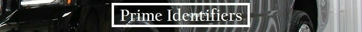Prime Identifiers