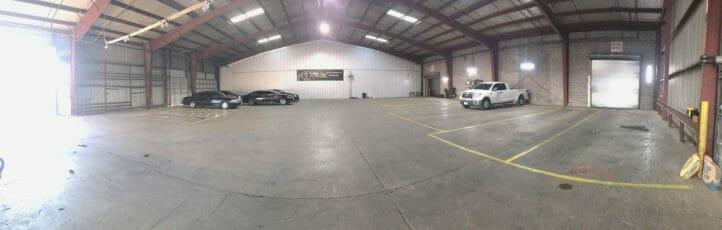 Empty Garage Panorama