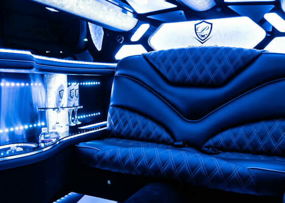 Luxurious limo service